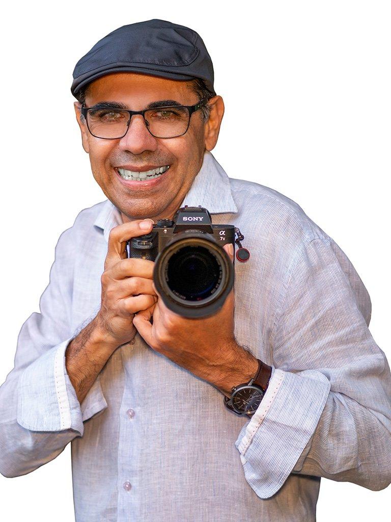 Professional photographer John Pires